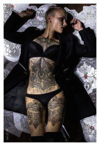 tatuaggio ornamentale